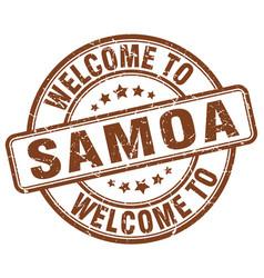 Welcome to samoa vector