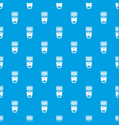 lighting flash for camera pattern seamless blue vector image