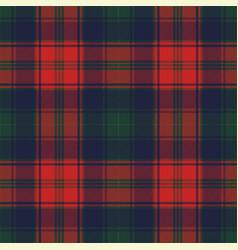 Diagonal fabric texture plaid seamless pattern vector