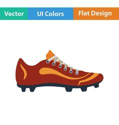 Baseball boot icon vector