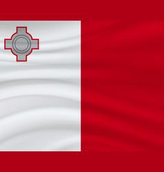 21 september malta independence day background vector image