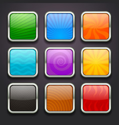 background for the app icons-part 3 vector image
