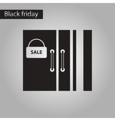 Black and white style icon wardrobe sale Black vector