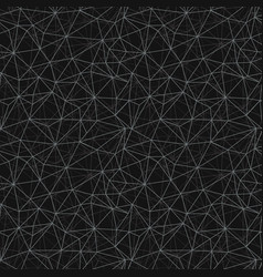 Black grey network web texture seamless pattern vector