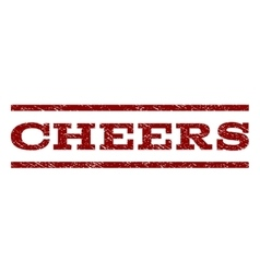 Cheers Watermark Stamp vector