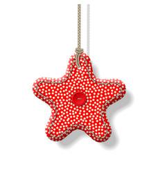 Christmas textile decorations vector