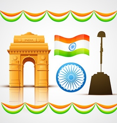 Heritage india vector