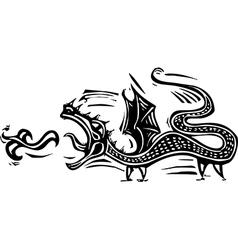 Long Dragon vector
