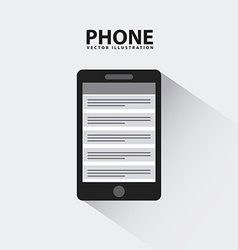 phone design vector image