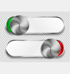 Unlock buttons isolated on transparent background vector