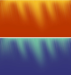 Two Abstract Backgrounds vector image