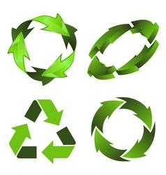 Recycling Symbol vector image
