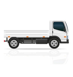 small truck 01 vector image vector image