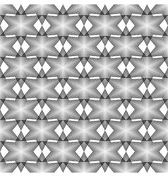 Design seamless monochrome latticed pattern vector image