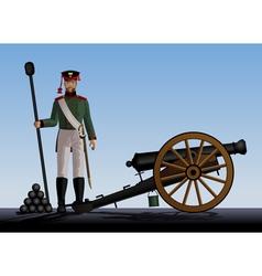 artillery vector image