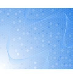 blue colored background - cell concept vector image