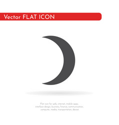 crescent moon1 vector image