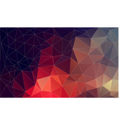 flat plygonal abstract background vector image