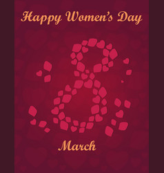 international womens day vector image