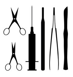 medical tools vector image