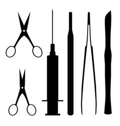 Medical tools vector