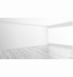 modern bright interior empty room vector image