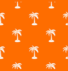 palm pattern seamless vector image