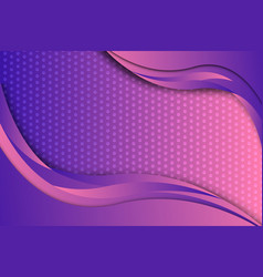 purple gradient color geometric abstract vector image