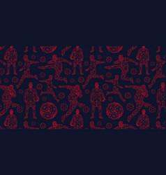 Wallpaper background pattern soccer vector