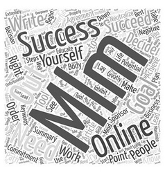 What You Have to Know About MLM Online Word Cloud vector
