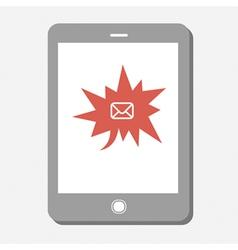 urgent mail vector image