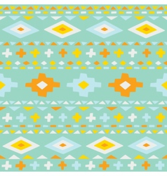 Cute ethno seamless pattern vector image vector image