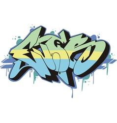 Graffito - ever vector