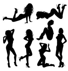 Sexy Girl vector image vector image