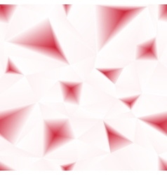 red triangular holes abstract seamless vector image vector image