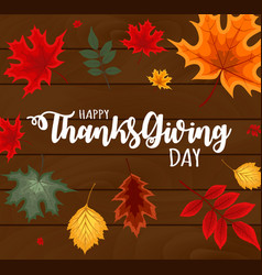 abstract happy thanksgiving vector image