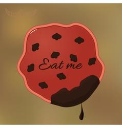Alice Eat Me Cookie vector