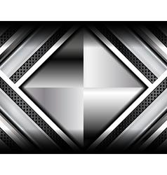 Elegant metallic backgrounds vector
