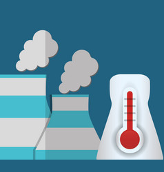 Nuclear power plant temperature vector