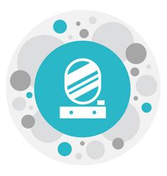 of hygiene symbol on pier vector image