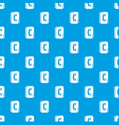 Phone book pattern seamless blue vector