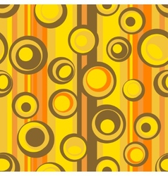 seamless abstract circle pattern vector image