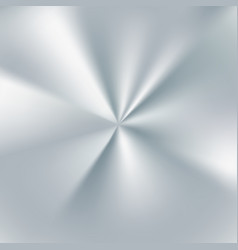 silver radial gradient metallic foil surface vector image