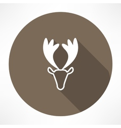 young deer icon vector image
