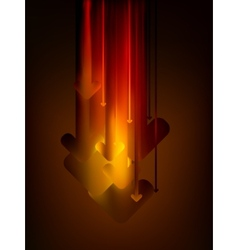 Abstract arrows background EPS 8 vector image vector image