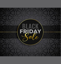 Awesome black friday sale background vector