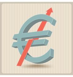 Euro raising vector