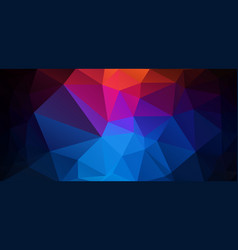 Flat abstract background with triangle shapes vector