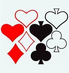 Gambling vector image