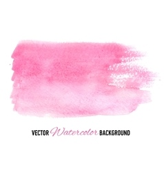 Hand drawn watercolor background for presentation vector image